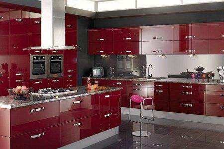 Цветовые оформления интерьера кухни