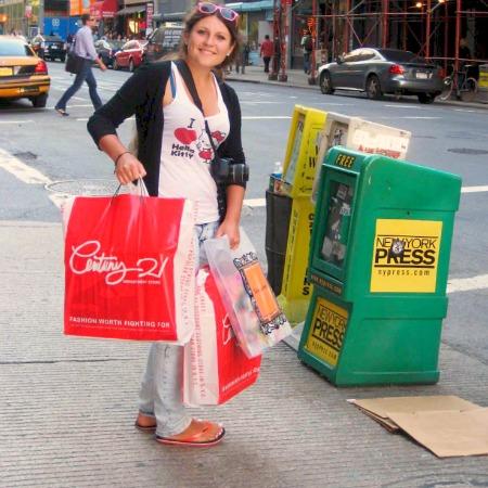 Женский взгляд на шоппинг
