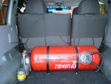 газовое оборудование на авто